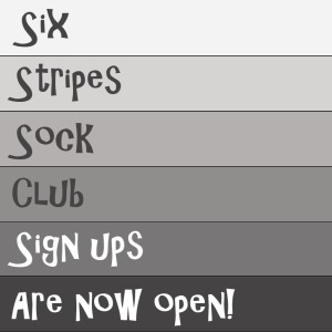 six stripes sock club